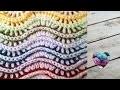 Point zig zag en relief très facile crochet/ Punto zig zag a crochet en relieve muy facil