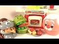Pâte à Modeler Play Doh Dentiste Shrek mange du fast food avec le singe