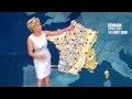 Evelyne Dhéliat présente la météo alarmante de 2050