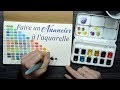 Débuter l'aquarelle : Mélanger ses couleurs