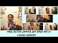 Haul action janvier 2017 (peinture,baux art,scolaire,et loisirs creatife )