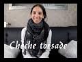 Tuto tricot : un chèche chaud , moelleux avec torsade facile , écharpe femme