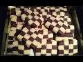 ðŸ�«Recette sablés damiers/Gateaux bicolores vanille et chocolat