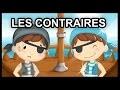 Apprendre les contraires en français