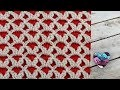Point reversible au crochet pour couverture