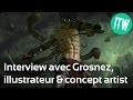 Interview de Grosnez, illustrateur et concept artist freelance