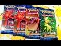 Ouverture Pokémon 4 boosters Platine Rivaux Émergeants : Cizayox me vend du rêve !