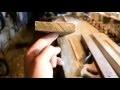 faire main: porte de cuisine en bois de récupération sans vis, reclaimed wood kitchen door part1