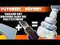 Tutoriel : découper des rochers dans du polystyrène