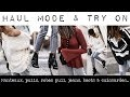HAUL MODE & TRY ON NOVEMBRE 2017 - Manteaux, pulls, robes pull, jupes, bottines et cuissardes...