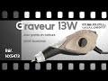 GRAVEUR AVEC POINTE CARBURE - gravure sur tous matériaux - [PEARLTV.FR]