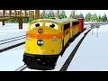 Train Shawn in French - Apprend la Gauche et la Droite et décore le sapin