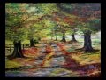 Mes Paysages d' Automne - Olivier Lemennicier Artiste peintre sur toile, Peinture Acrylique - Vidéo