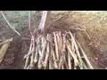 Idee de cabane dans les bois !