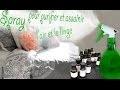 diy:spray pour purifier et assainir l'air et le linge