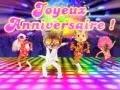 "Carte virtuelle anniversaire ""Anniversaire disco"""