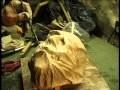création du masque de la créature pour un spectacle sur Frankenstein