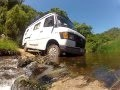 Mercedes 207D Crossing River