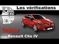 Renault Clio 4: Vérifications extérieures