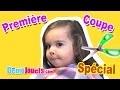 (VLOG) Première coupe de cheveux d'Amantine Famille - Démo Jouets