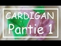 Tricot Facile - Tuto Cardigan (part 1/5) - Debutant - Layette - Easy Knitting - Beginner