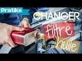 Automobile - Comment changer le filtre à huile ?