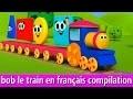 Bob Le train - Construire des figures | bob le train compilation | bob le train français