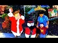 CHRISTMAS DECORATIONS! Fun Prank Time Holiday Vlog! (FUNnel Vision w/ Song)