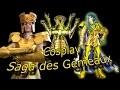 cosplay armure chevalier d'or des Gémeaux