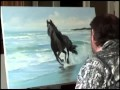 Igor Sakharov cheval leçon vidéo Nouvelle Bob Ross Russie Bob Ross