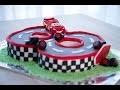 Comment faire gâteau d'anniversaire Cars (décoration en pâte à sucre)