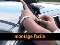 Barres de toit à assembler en acier pour véhicule non équipé de barres longitudinales