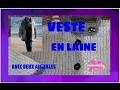 DIY. Veste En Laine Avec Deux Aiguilles//Woolen Jacket With Two Needles.