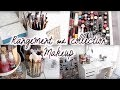 MON RANGEMENT MAKE UP l Make up collection & storage 2017
