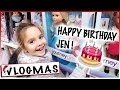 VLOGMAS 3 : Chasse aux jouets pour l'Anniversaire de Jen / Samedi en famille