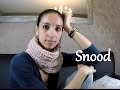 Tuto Snood / tour de cou point sillon , cadeau cynthia dulude / knit easy snood