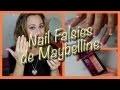 Les Nail Falsies de Maybelline - Les faux ongles à portée de tous