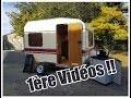 Restauration Caravane DIGUE 1ère Partie = Démontage de l'intérieur, peinture et Lanterneau!!!!