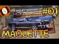 MAQUETTE DE VOITURE - SHELBY MUSTANG GT 350 H | #01