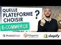 💻 Quelle plateforme e-commerce choisir ? Mon avis sur le sujet