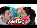 MAN VS WIFE LE PLAY-DOH CHALLENGE