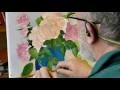 Peindre des roses en hiver