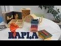 Kapla - Démo du jeu de planchettes - construction en français HD FR
