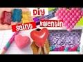 DIY cadeaux & décoration saint valentin┃Reva ytb