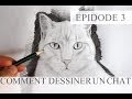 Comment dessiner un chat - technique simple (Tutoriel Episode3)