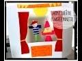 activité manuelle mini théâtre et marionettes de doigt