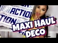 HAUL DECO : MAGASIN ACTION, LA FOLIEEEEE!!!