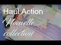 Haul Action Scrap ... encore une nouvelle collection de papier :))))