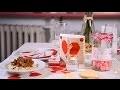 DIY Saint-Valentin :  décoration de table cocooning