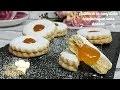 biscuits sablés à la confiture économiques sans beurre par Lynda Akdader